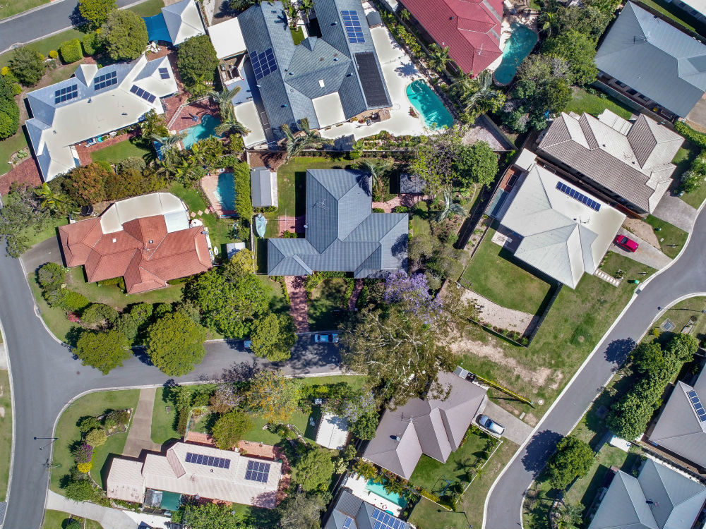 Aerial Footage of the Property
