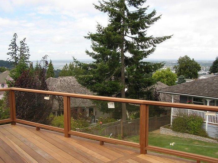 Glass Railing Ideas: Designs to Make Your Balcony More ...
