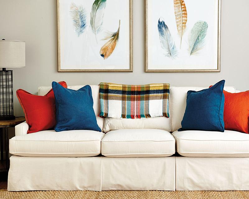 Use Decorative Pillow