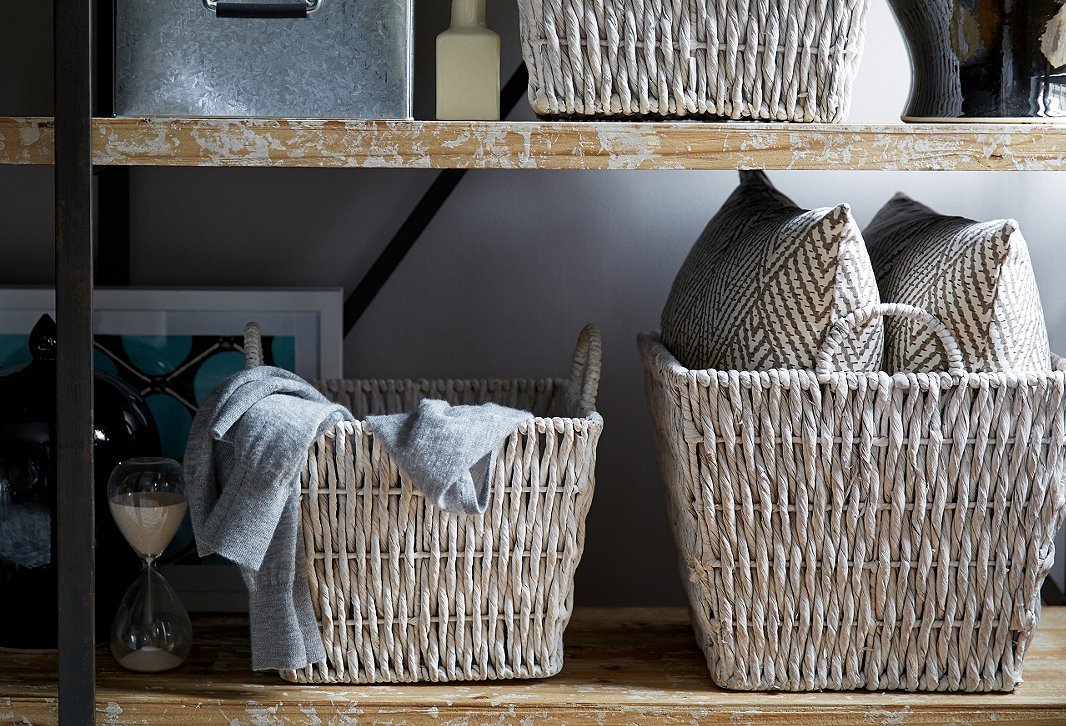 Baskets, boxes and more baskets