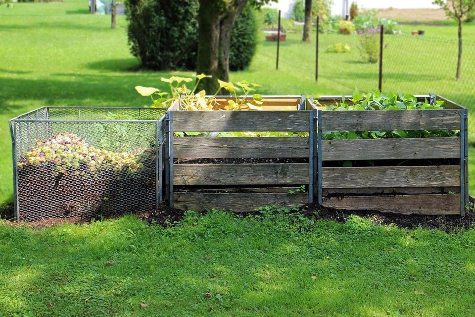 Put A Fence Around Your Compost Heap