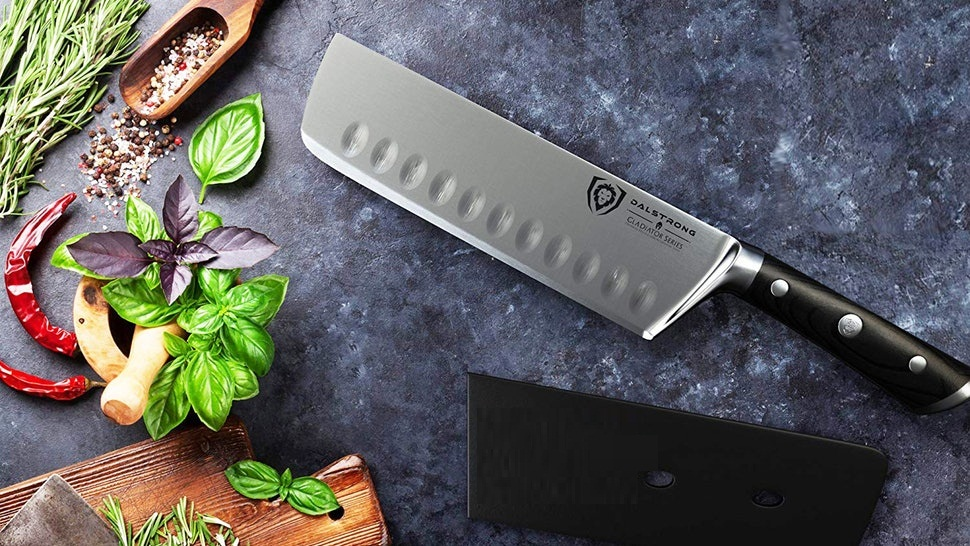 Carbon Steel Knives Can Chop on Any Surface