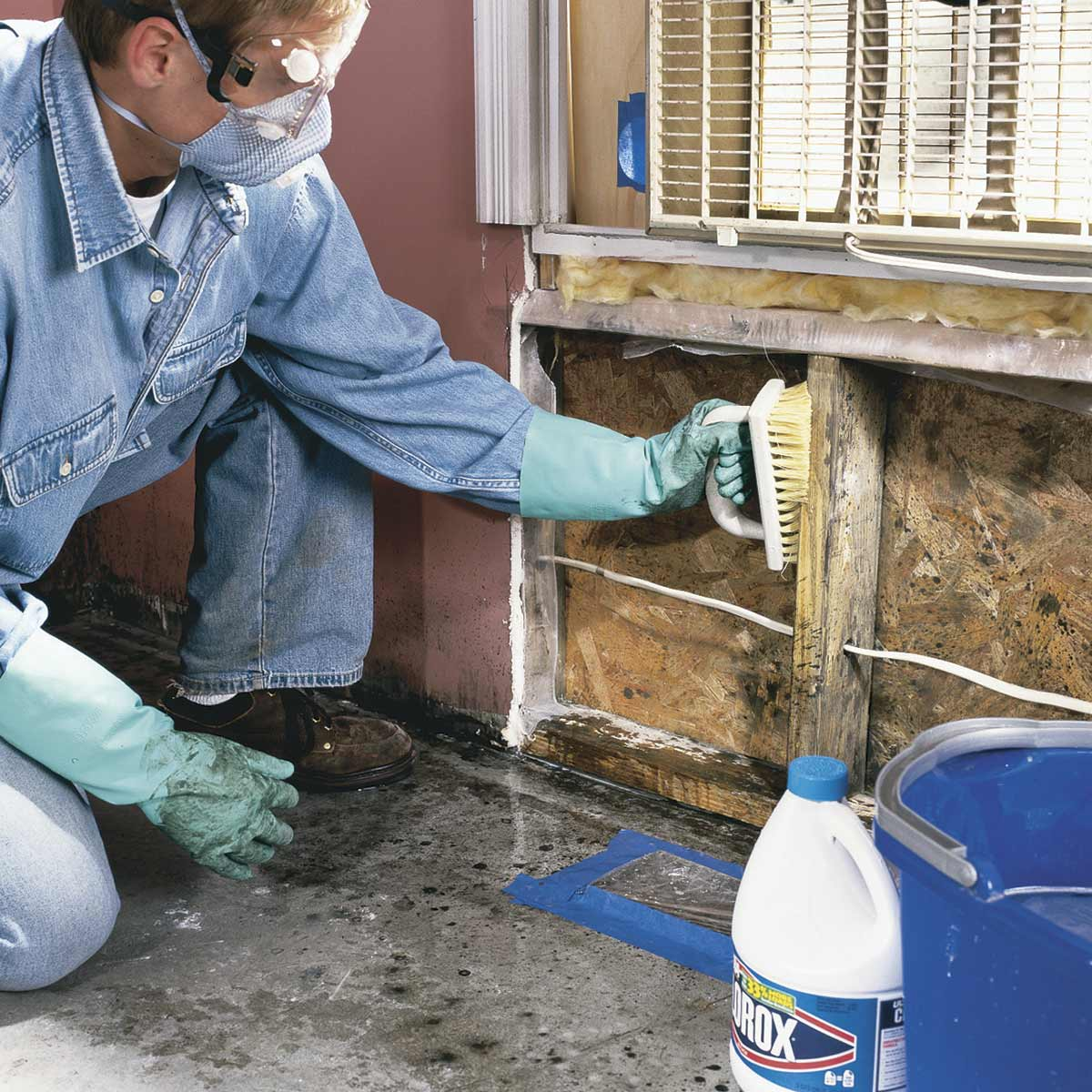 Fix the Source of Mold