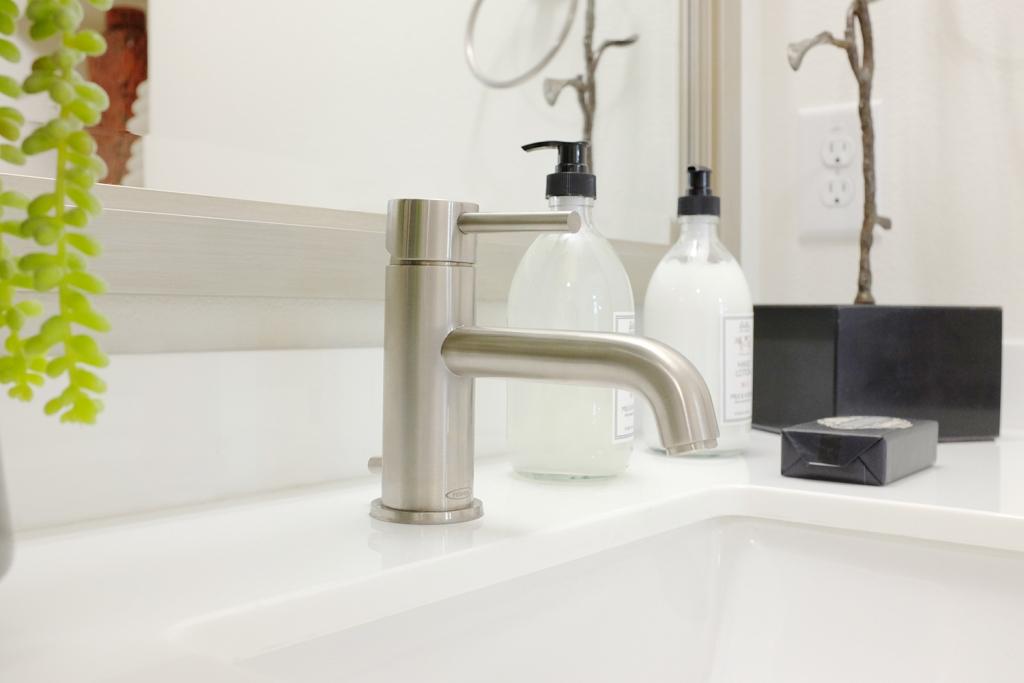 Get Low-Flow Bathroom Fixtures