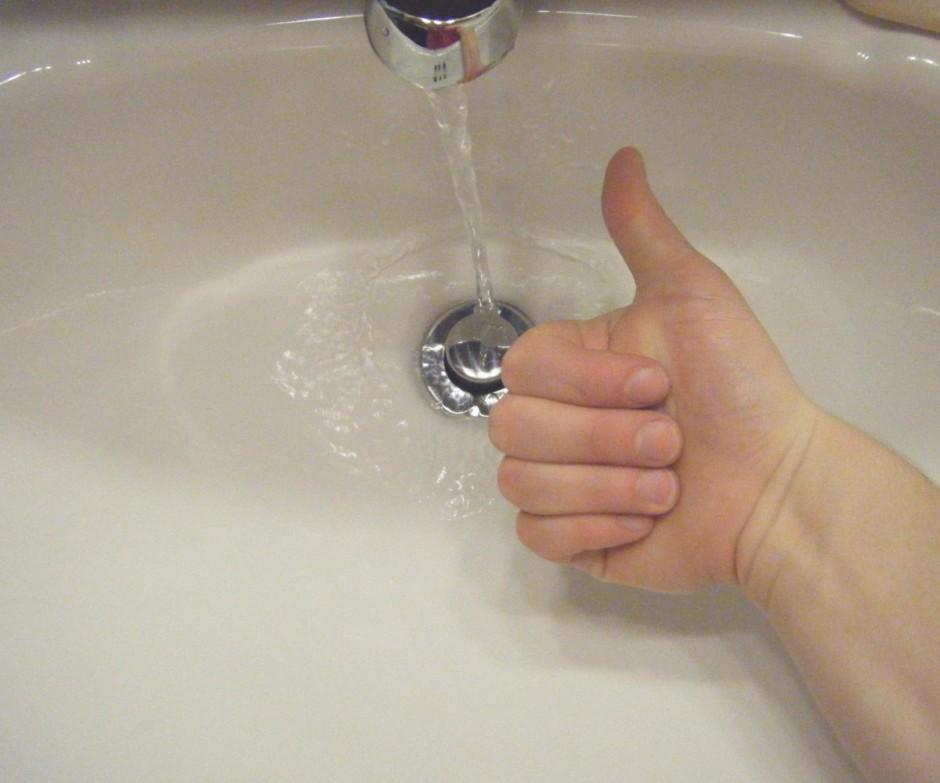 Slow Draining Sinks