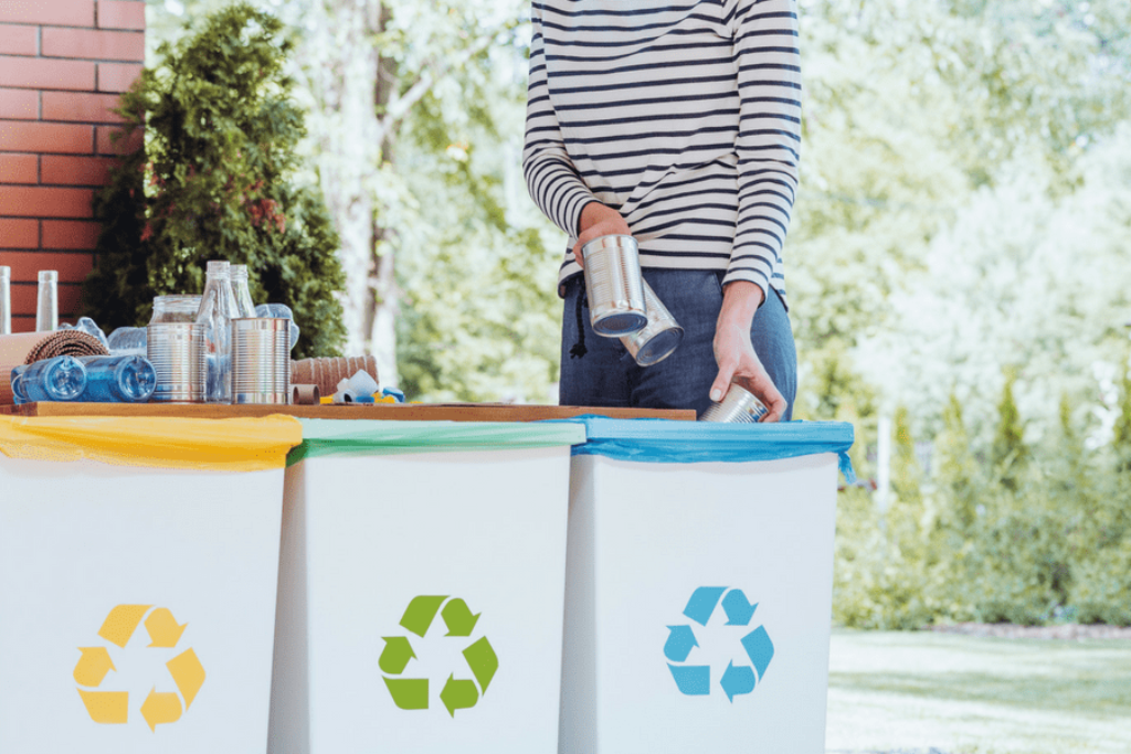 Throw Out Garbage Daily and Rinse Recyclables