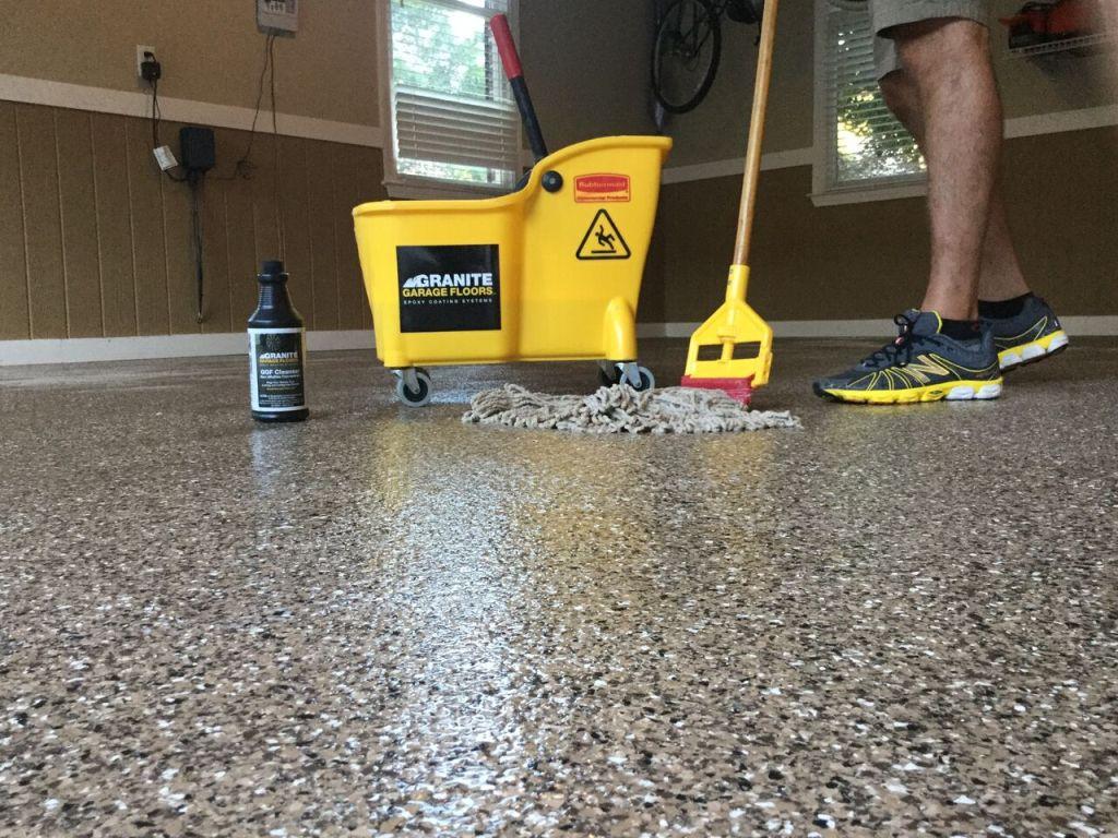 Clean The Garage Floor