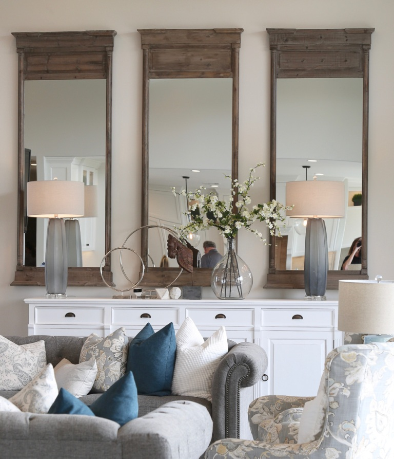 Consider the Reflection with Mirror Decor