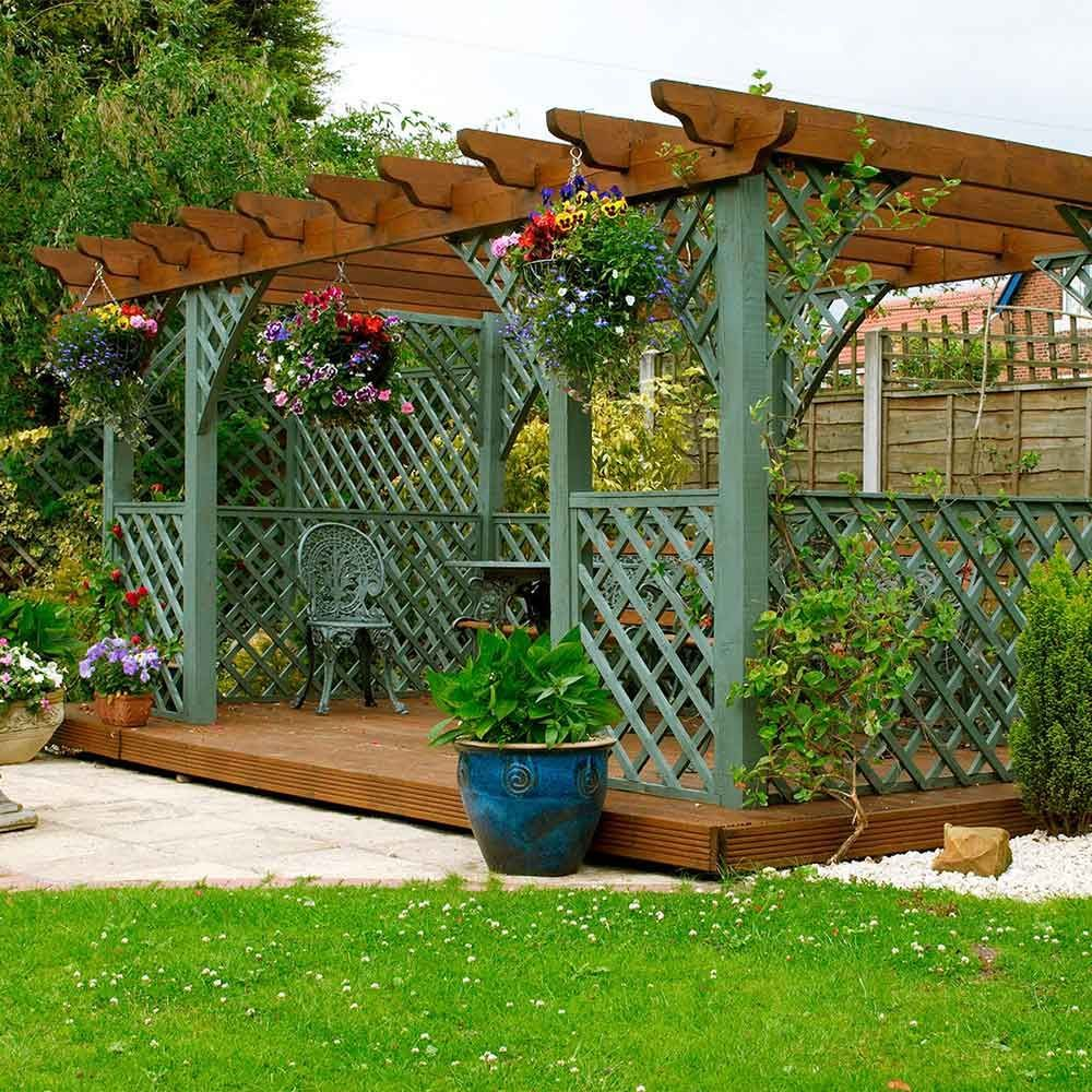 Decking and Pergolas Also Offer a Level of Privacy