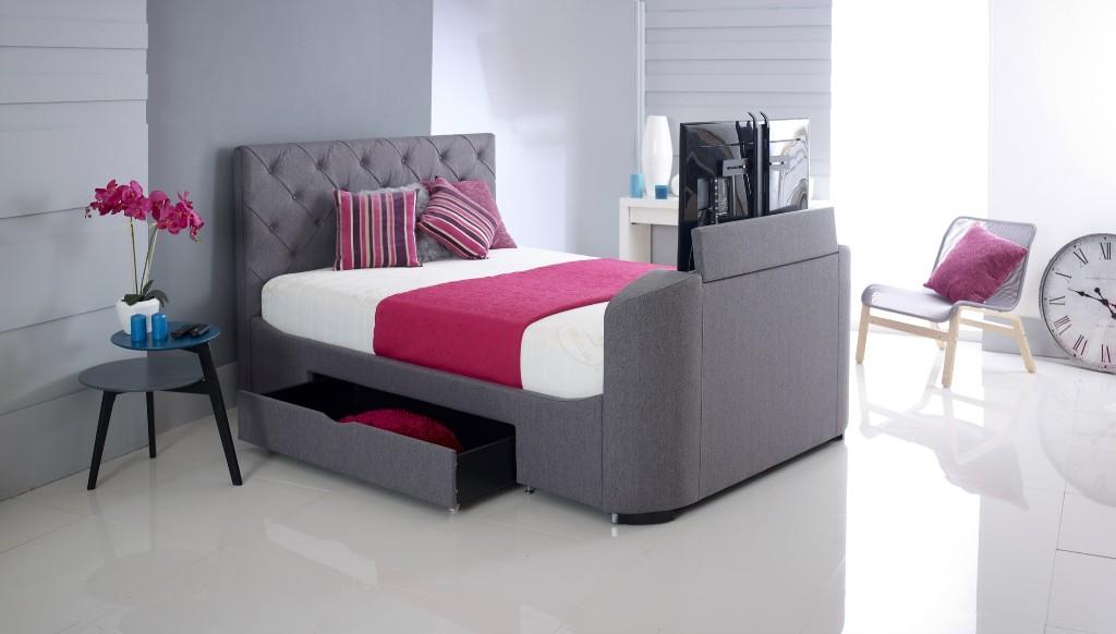 TV Beds Encourage Intimacy