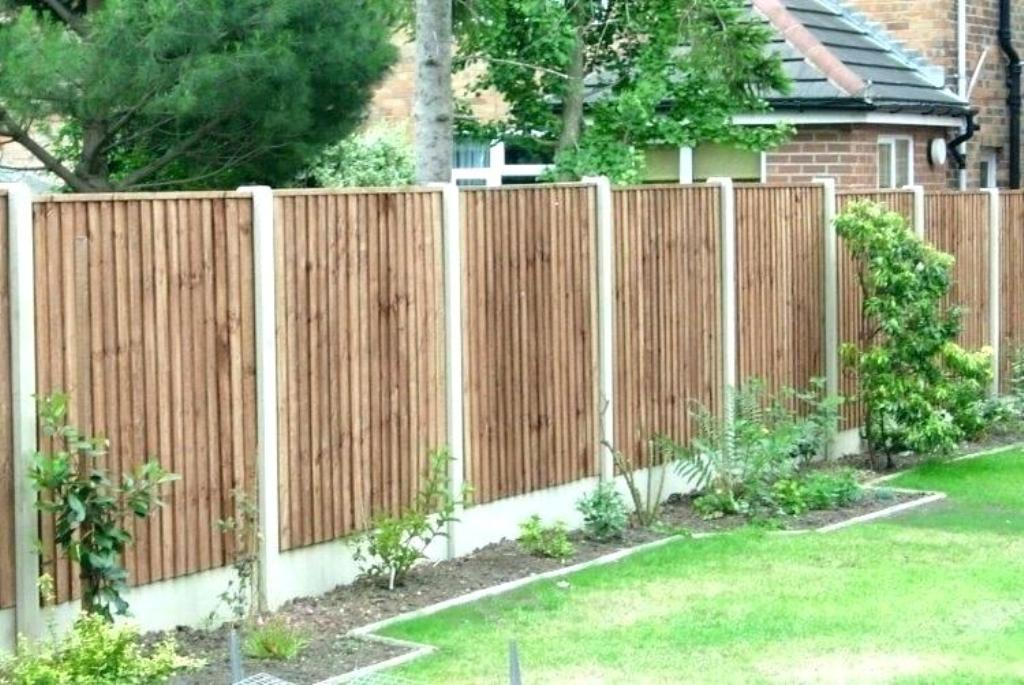 Know the kinds of fences that are available