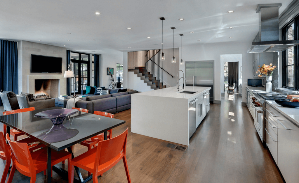 Opt for An Open-Plan Space