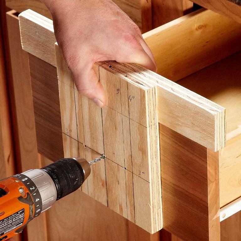 A Conversation about a Cabinet Hardware Jig