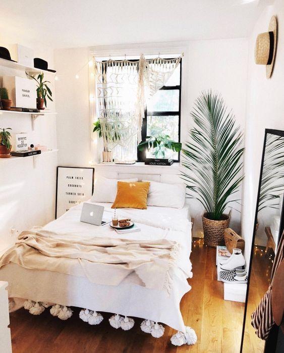 Do not clutter your bedroom.