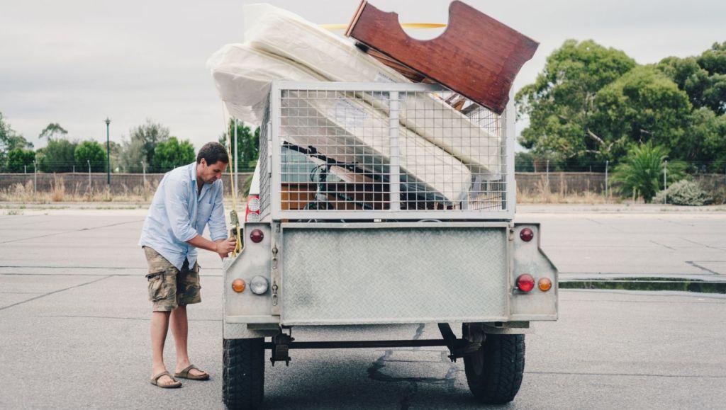 Prepare items for transportation