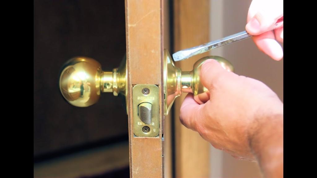 Replace or Repair a Door Lock Set