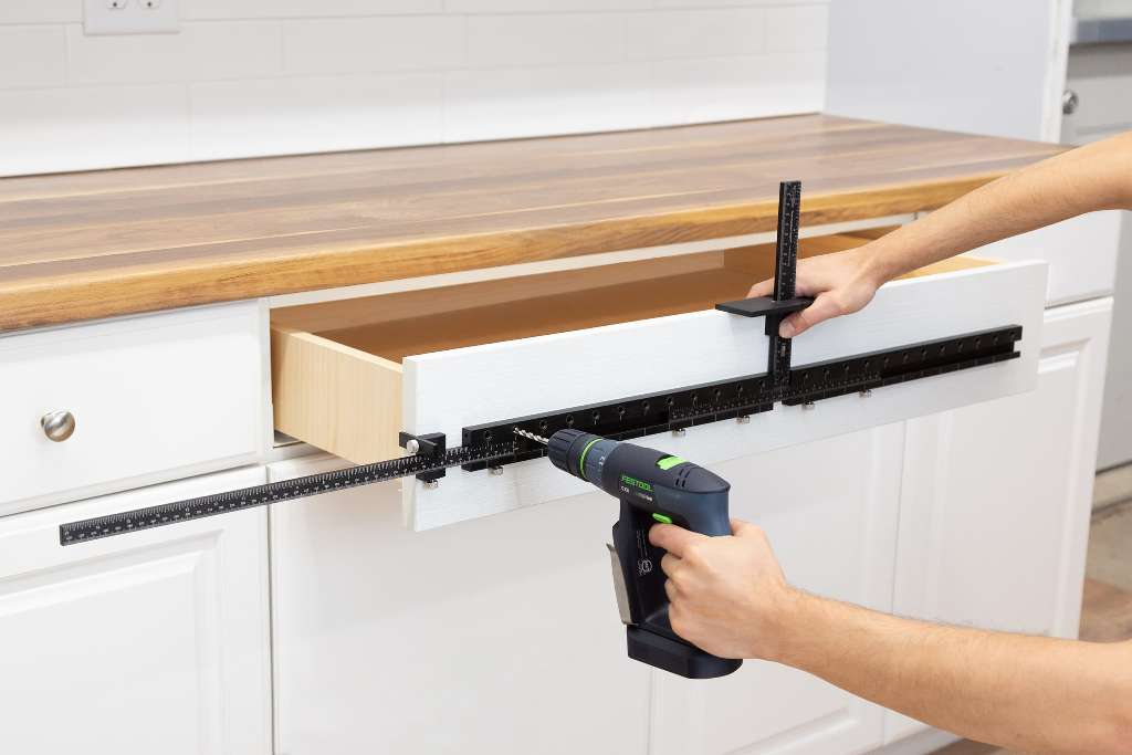 The Cabinet Hardware Jig in the Hardware Store