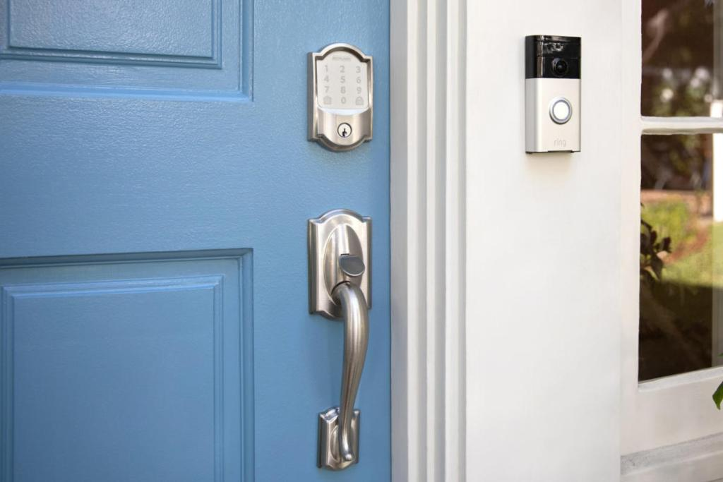 The first step is to secure your doors