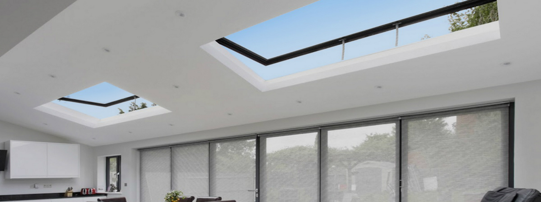 Domed vs. flat skylight