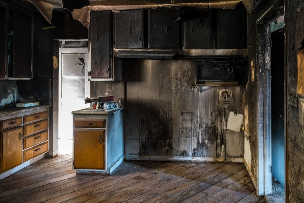 Fire and smoke damage