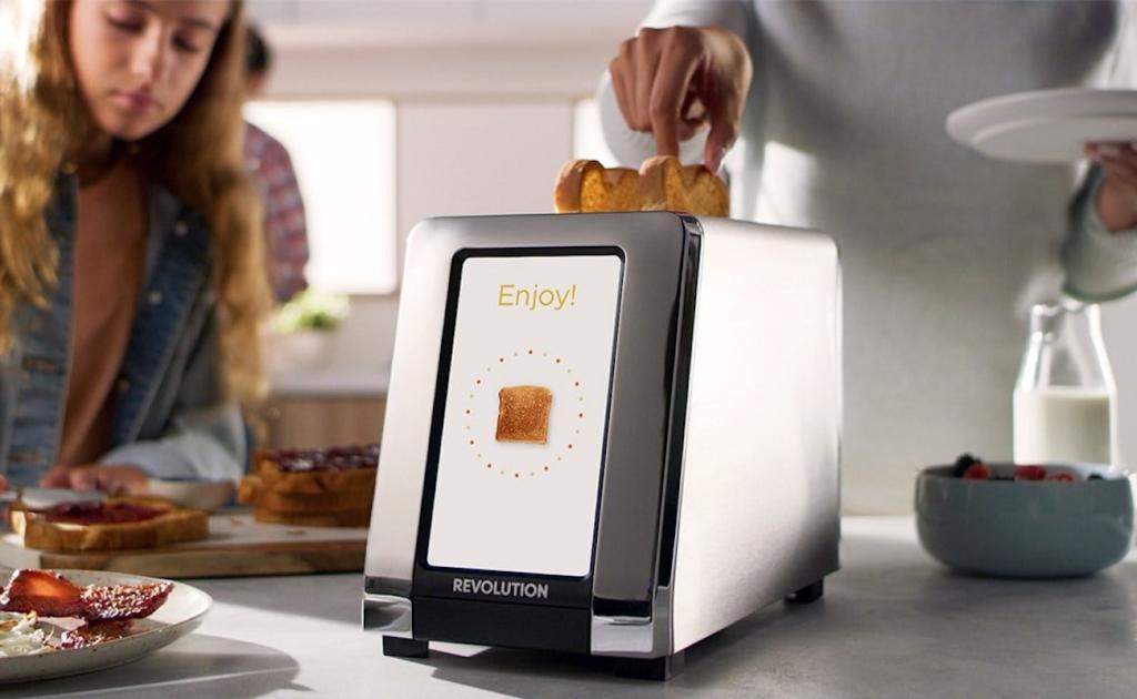 High Speed Smart Toaster