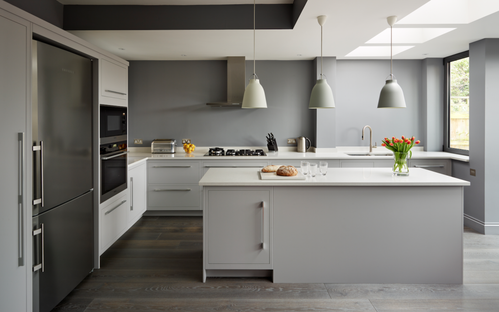 Linear kitchens