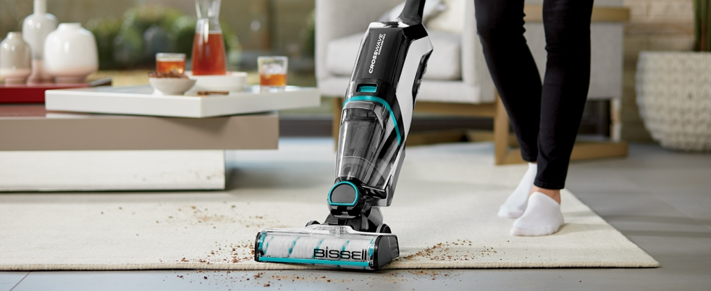 What is the right position for vacuuming