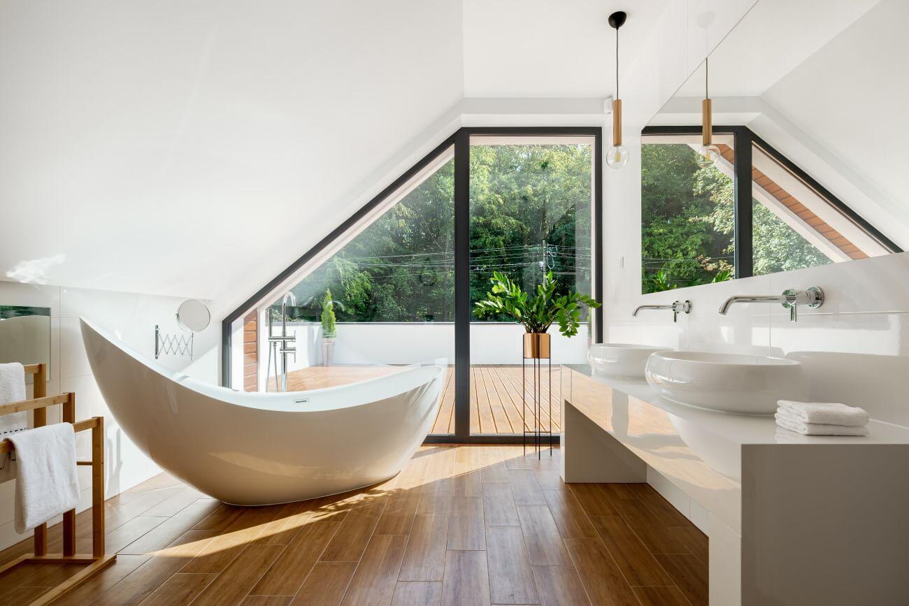 Bathtub Material & Weight
