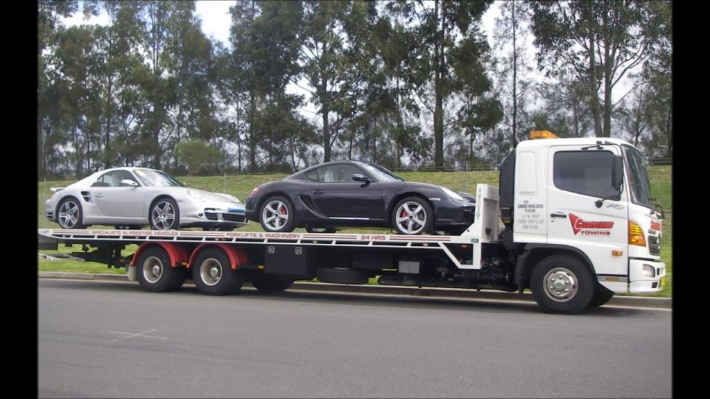 Towing distance