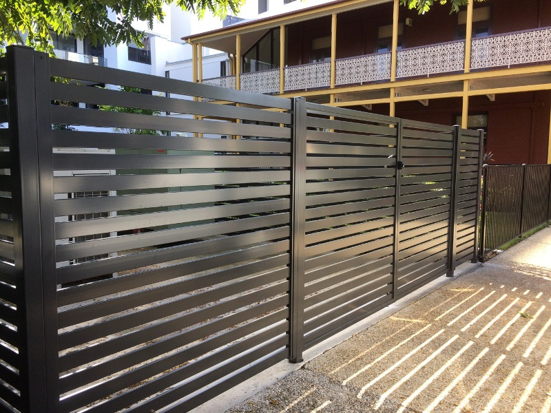 Aluminium fences