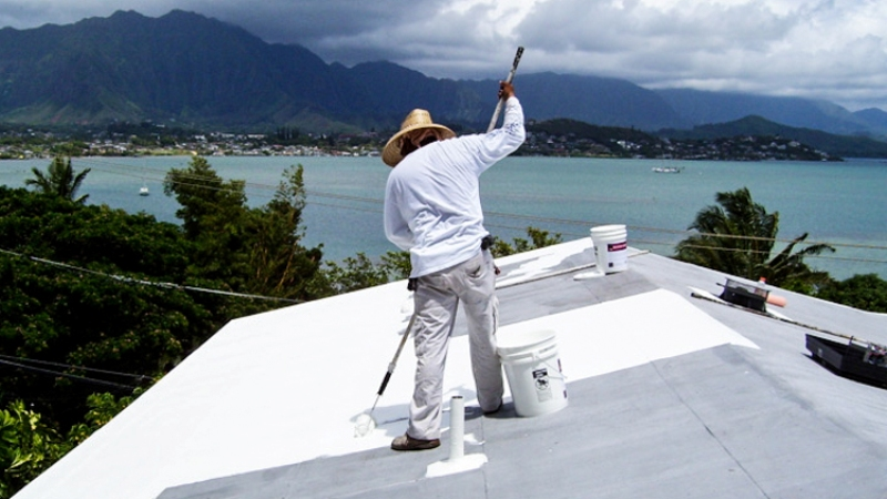 Paint your roof white