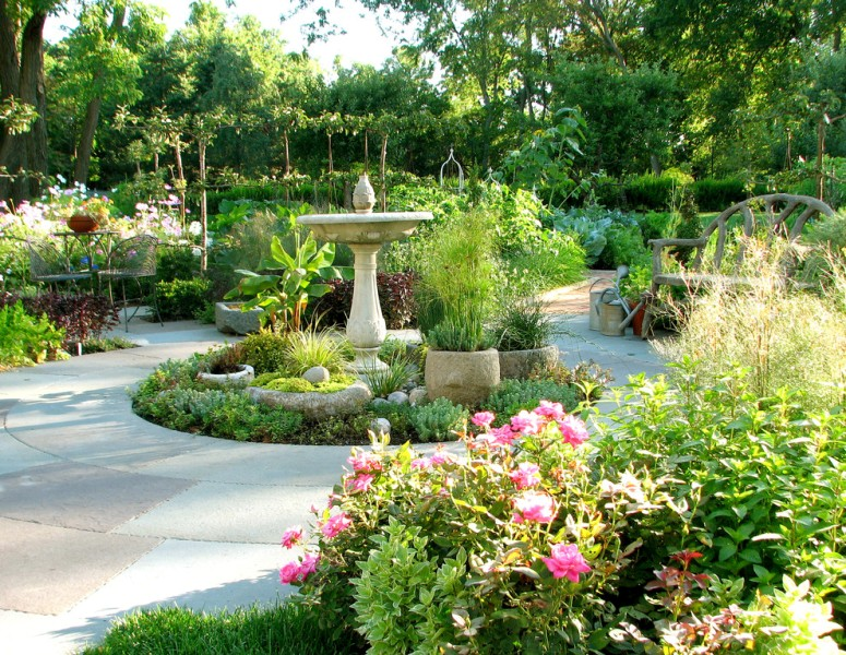 A good looking Garden