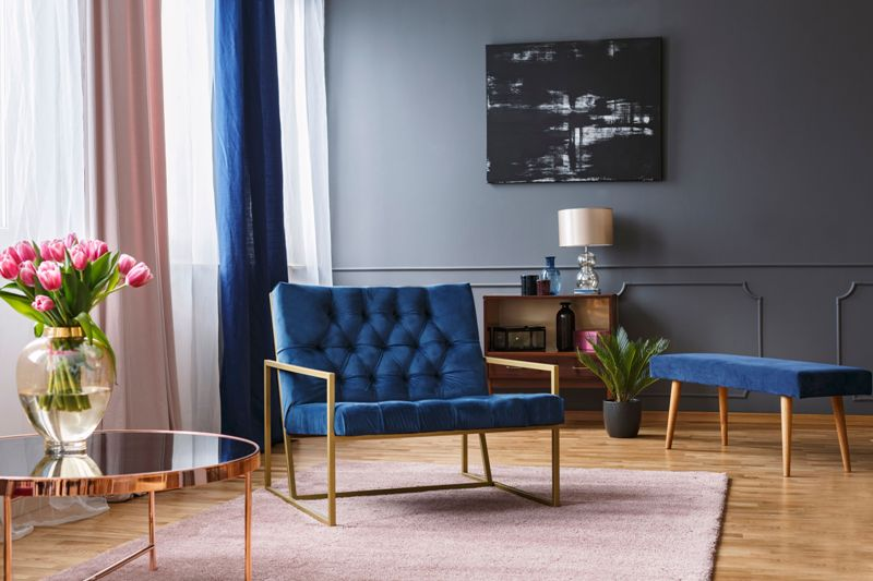 Blue Living Space