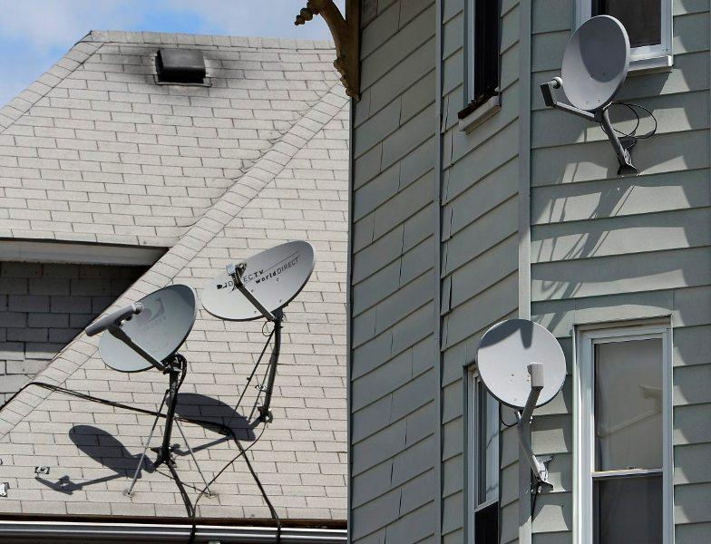 Remove the antennas