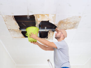 What to Do with a Ceiling Leak