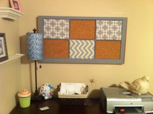 How to Build A Cork Board Frame For Window