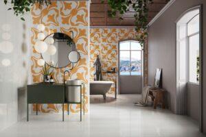 Bathroom Porcelain Tiles Ideas and Design