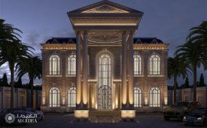 Bespoke Villa Design by Algedra Expresses Classic Harmony