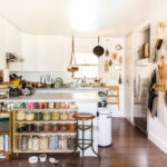 How to Create Storage in a Small Kitchen for Recipe Books?