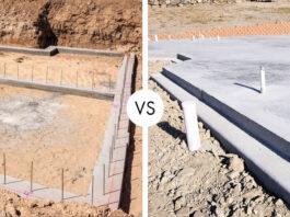 Home Foundation vs Concrete Slab